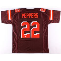 Jabrill Peppers Signed Browns Jersey (JSA COA)
