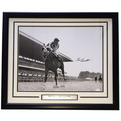 "Ron Turcotte Signed 22"" x 27"" Custom Framed Photo Display (JSA COA)"