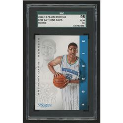 2012-13 Prestige Bonus Shots Black #201 Anthony Davis (SGC 10)