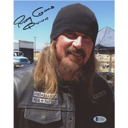 "Rusty Coones Signed Sons of Anarchy 8x10 Photo Inscribed ""Quinn"" (Beckett COA)"