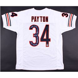 Walter Payton Signed Bears Limited Edition Jersey With (5) Inscriptions #34/34 (Payton Hologram)