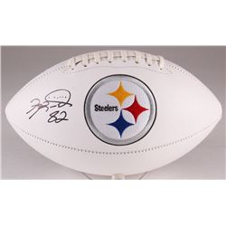 Antwaan Randle El Signed Steelers Logo Football (TSE COA)