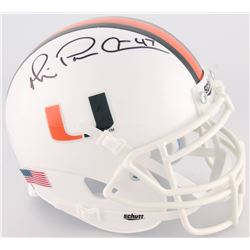 "Michael Irvin Signed Miami Mini-Helmet Inscribed ""Playmaker"" (Irvin Hologram)"