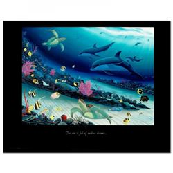 """Radiant Reef-Left"" 19x24 Fine Art Poster by Wyland"