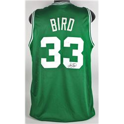 Larry Bird Signed Celtics Jersey (Beckett COA)