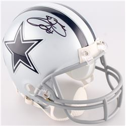 Emmitt Smith Signed Cowboys Mini-Helmet (Smith Hologram  Prova Hologram)