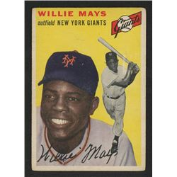 1954 Topps #90 Willie Mays