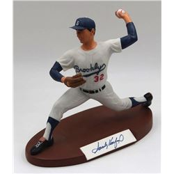 Sandy Koufax Signed Dodgers LE Sport Legends Figure (Salvino COA)