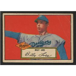 1952 Topps #20 Billy Loes SP RC