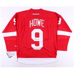 Gordie Howe Signed Red Wings Jersey (Steiner COA)