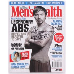 "Manny Pacquiao Signed Men's Health Magazine Inscribed ""Pacman"" (Pacquiao COA)"