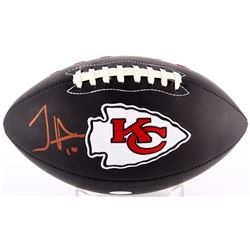 Tyreek Hill Signed Chiefs Logo Football (TSE COA)