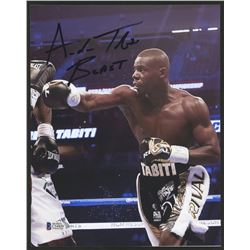 "Andrew Tabiti Signed 8x10 Photo Inscribed ""BEAST"" (Beckett COA)"