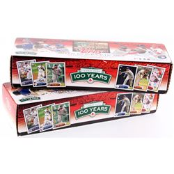 Lot of (2) 2012 Topps Baseball Complete Set of (661) Baseball Cards
