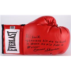 Earnie Shavers Signed Everlast Boxing Glove with Extensive Inscription Referencing Muhammad Ali (Sha