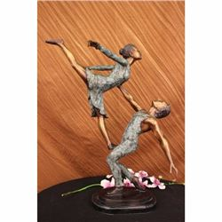 ORIGINAL LIMITED EDITION 30/100 BALLERINA BRONZE STATUE SCULPTURE FIGURINE PIECE
