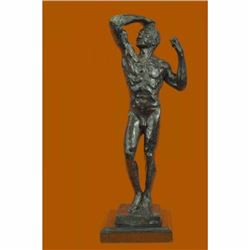 The Bronze Age, also known as The Vanquished, Hot Cast Classic Rodin Artwork Art
