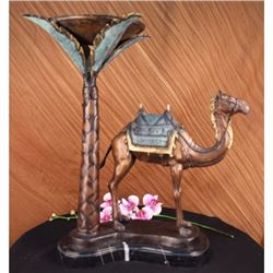 LIMITED EDITION SIGN CAMEL DESERT ISRAEL BRONZE STATUE