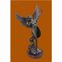 20 Tall Archangels Nike Angel of Victory Mythical Bronze Sculpture Statue Decor