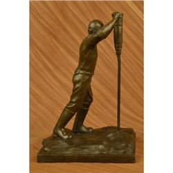 The Roughneck bronze sculpture depicting an oil field worker Art Deco Figurine