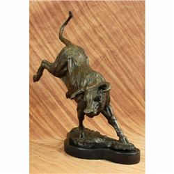 Hot Cast Large Stock Market Broker Office Design Designer Bronze Bull Sculpture