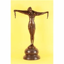CLASSIC BELLY DANCER CHIPARUS BRONZE