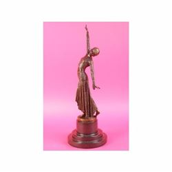 ~ D.H.Chiparus~ bronze art deco statue Egyptian Dancer Art Sculpture