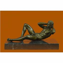 Signed Original Limited Edition Nude Gay Bronze Masterpiece Sculpture Statue Art