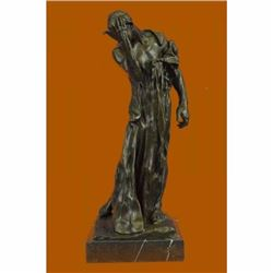 Pierre de Wiessant, Monumental by Rodin Famous French Artist Bronze Sculpture