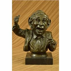 Limited Edition Numbered Original Bronze President George Bush Sculpture Statue