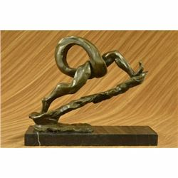 Original Hand Crafted Modern Art Feet Foot Bronze Sculpture Realism Figurine NR