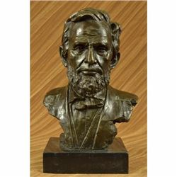 Large Limited Edition Abraham Lincoln USA President Bronze Sculpture Statue SALE