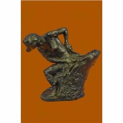 Woman Seated in an Armchair by Edgar Degas Bronze Sculpture Statue Figure