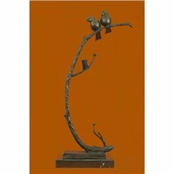 Limited Edition Signed Original Love Birds by ~C.Payne~ Bronze Sculpture Statue
