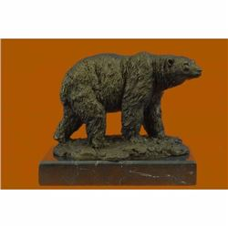 Original Bronze Sculpture by Milo Polar Bear Art Deco Classic Wildlife Figurine