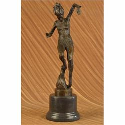 Signed Original Aldo Vitaleh Professional Dancer Ballerina Bronze Sculpture LRGE