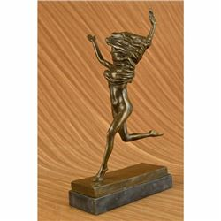 Original Jean Patoue Original Art Deco Gypsy Dancer Bronze Sculpture Statue SALE