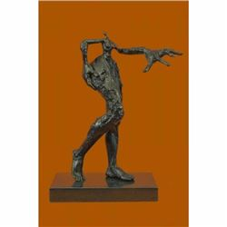 Collector Edition by Salvador Dali Exaggerated Female Bronze Sculpture Marble