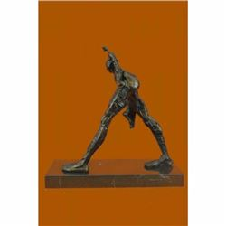 BRONZE AFTER SALVIDOR DALI SCULPTURE STATUE 8/100 SIGNED NUMBERED BY COOK SALE