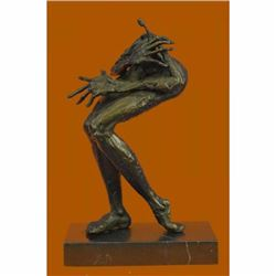 Limited Edition Abstract Modern Art Female Monster Bronze Sculpture Figurine