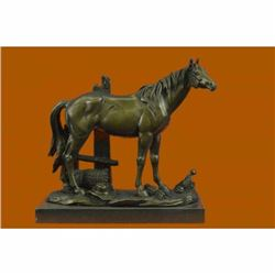 Bronze Sculpture Miguel Lopez Hot Cast Stallion Mere Horse Classic Artwork Decor