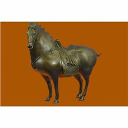 Tang Horse by Zhang Art Deco Modern Bronze Sculpture Figurine Hot Cast Statue