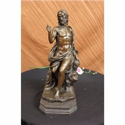 Art Bronze Sculpture Statue Figure Bible Jesus Large Figurine