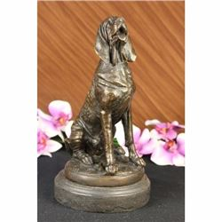 Signed By Cain Blood Hound Bloodhound Kennel Club Dog Sculpture