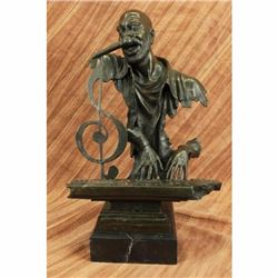 Museum Quality Bronze Sculpture Isaac Hayes Singer Songwriter Original Statue NR