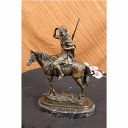 Antoine Barye Arab on Horse Morrocan Hunter Statue Deco