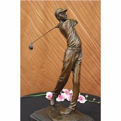 Ben Hogan Male GOLFER Sports Memorabilia Golf Club Art PGA Bronze Statue 23TALL