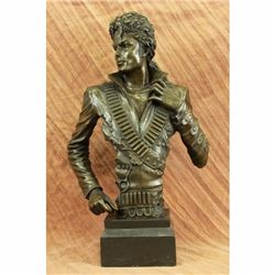 Limited Edition Number Hot Cast Original Michael Jackson Singer Bronze Sculpture