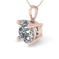 2 CTW Certified VS/SI Diamond Necklace 18K Rose Gold - REF-930N8Y - 32363