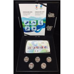 2010 Vancouver Olympics Coin, Stamp and Pin Collector Set